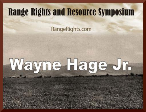 Wayne Hage